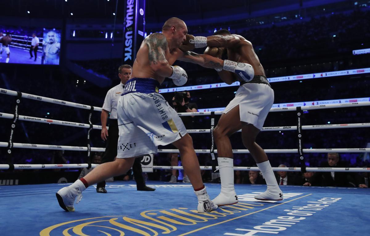Александр Усик победил Энтони Джошуа и стал чемпионом мира по боксу / фото REUTERS