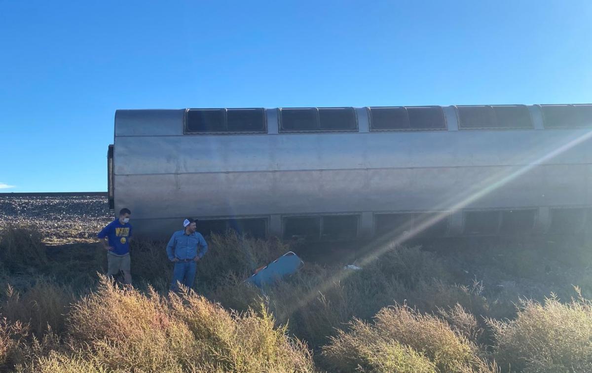 В США поезд сошел с рельсов / фото twitter.com/jacob_cordeiro