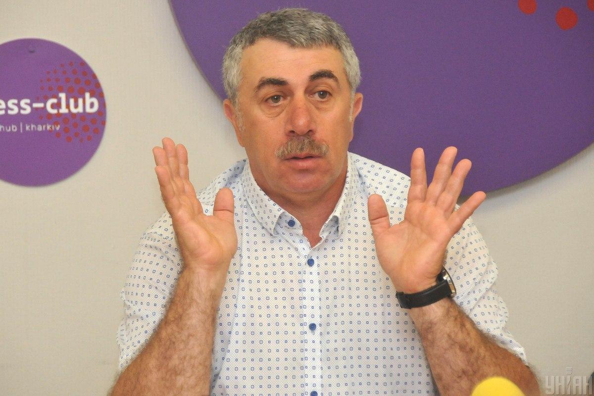 Євген Комаровський озвучив ключові засоби для профілактики коронавірусу / фото УНІАН