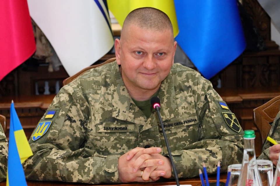 Генерал Валерий Залужный заявил, что Украина готова к вступлению в НАТО / фото facebook.com/CinCAFU