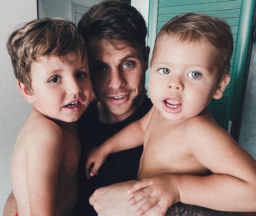 Логай виховує двох синів / instagram.com/logai.arthur