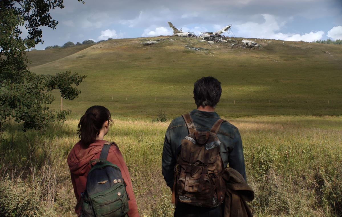 Перший кадр з серіалу The Last of Us / фото twitter.com/Naughty_Dog