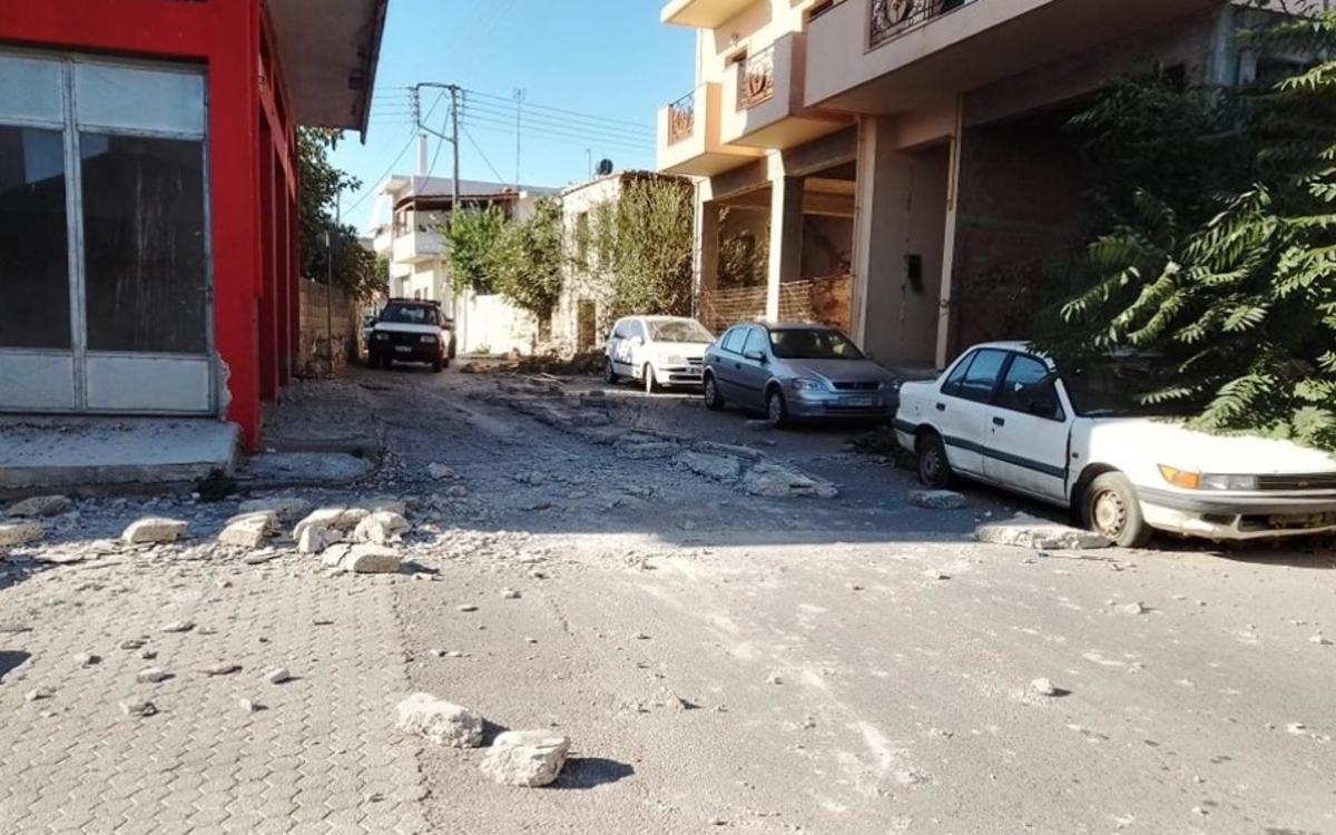 Крит сколихнув потужний землетрус / фото cretalive.gr