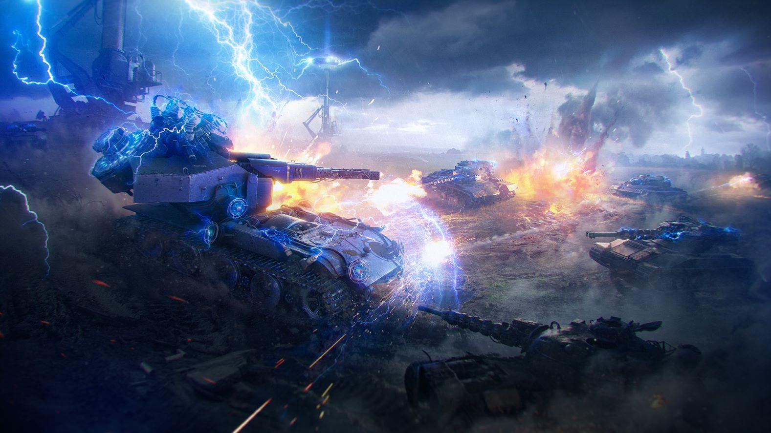 """В игру возвращаются бои """"7 против 1"""" / фото Wargaming"""
