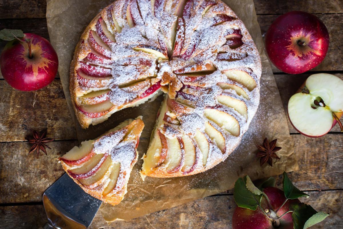 Почему не получился яблочный пирог и как допечь любой сырой пирог / 1zoom.ru