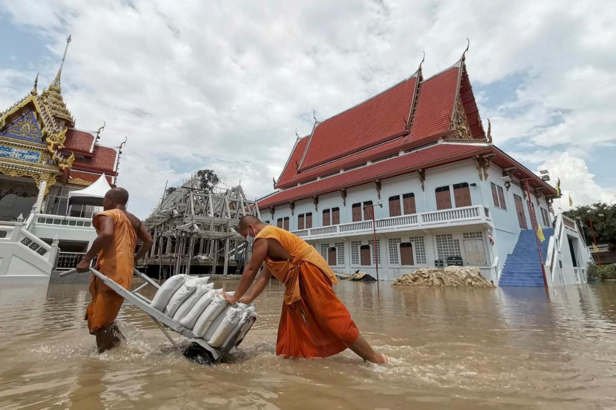 Власти Таиланда опасаются новых разрушений из-за муссонных дождей / фото REUTERS