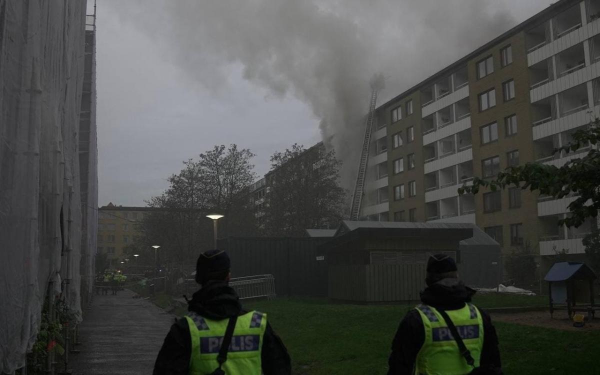 У Гетеборзі прогримів вибух / фото t.me/ru2ch_news