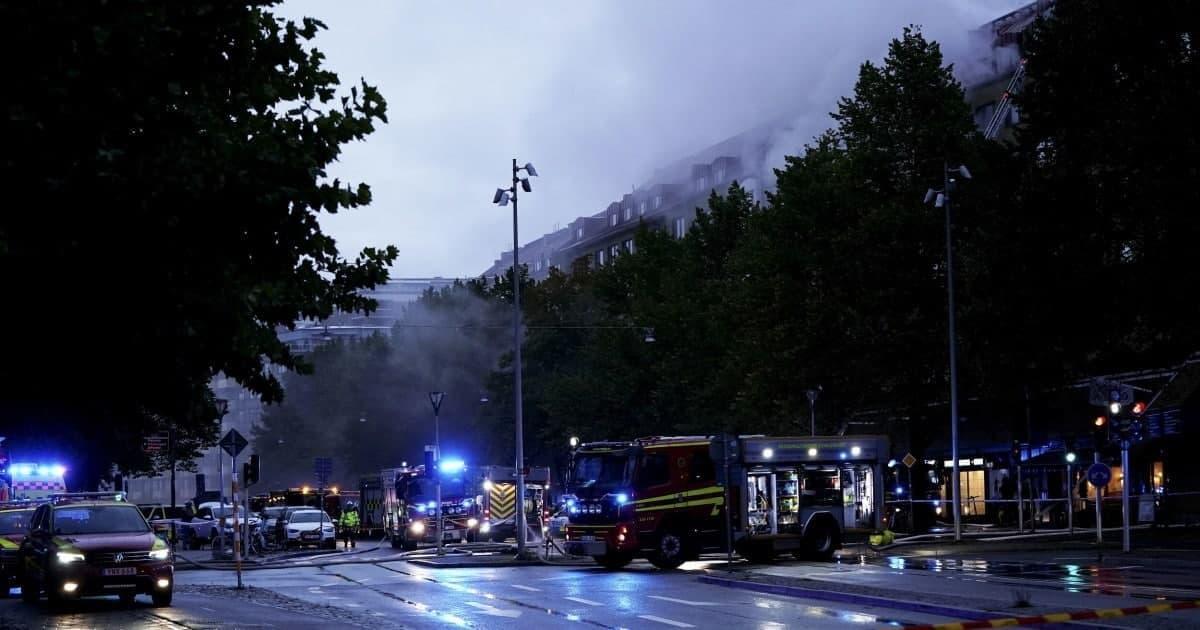 В Гетеборге прогремел взрыв / фото t.me/ru2ch_news