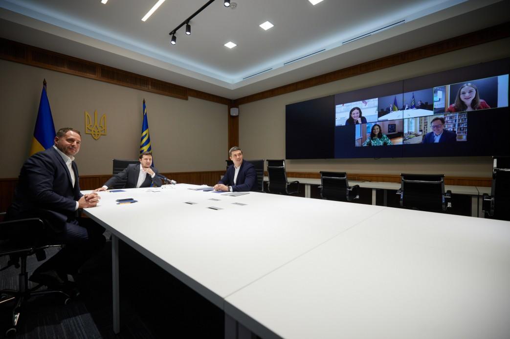 Зеленский предлагает Facebook открыть офис в Украине / фото president.gov.ua