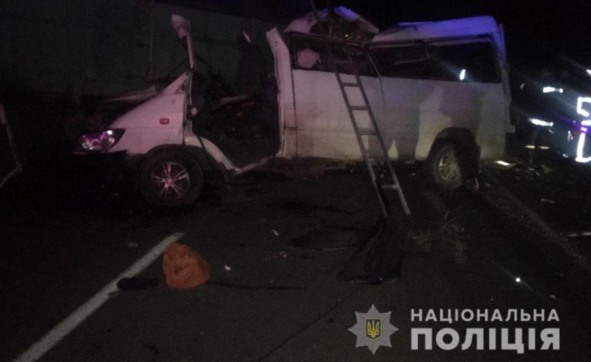 На Миколаївщині в ДТП загинули четверо людей / фото: Нацполіція