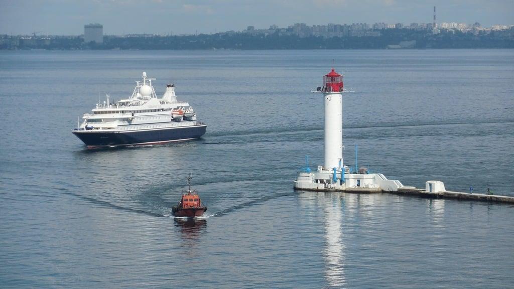 В Одесу прибув круїзний лайнер / фото прес-служба адміністрації Одеського порту