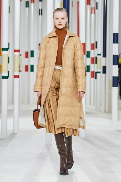 Модні стьобані куртки / фото Hermes