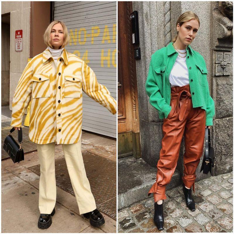 Модні куртки-сорочки 2021 / фото citylook.by