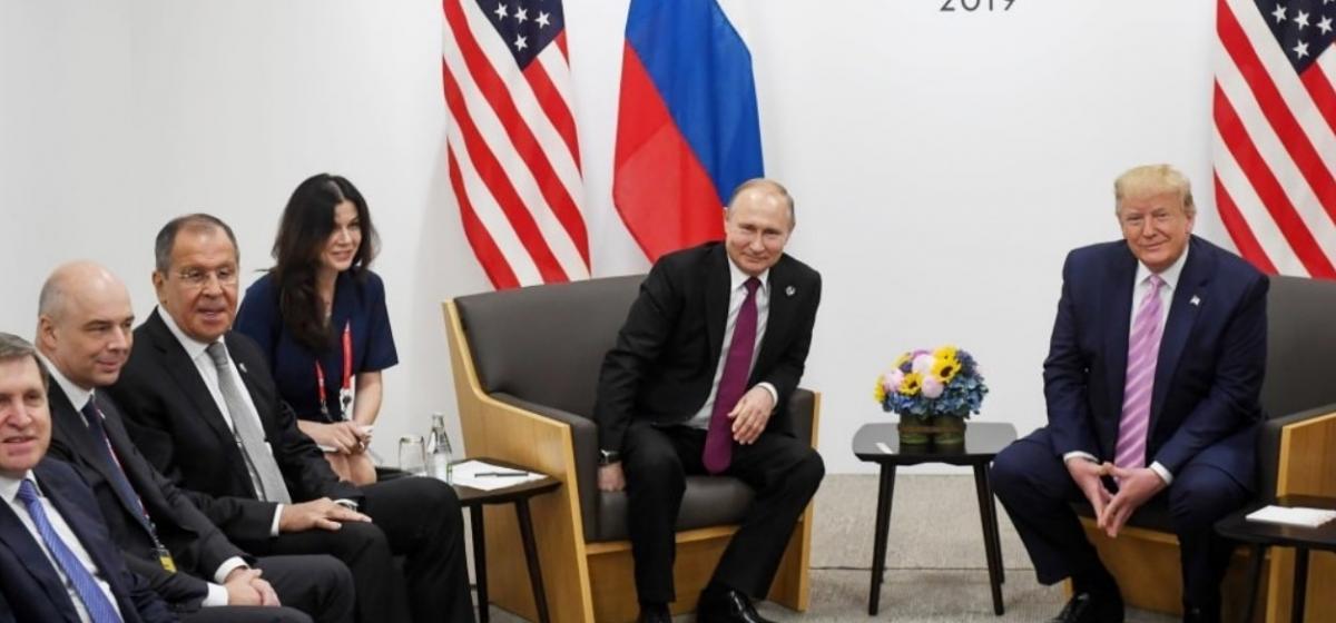 Путіна викрили в маніпуляції на зустрічі з Трампом у2019 році / скріншот
