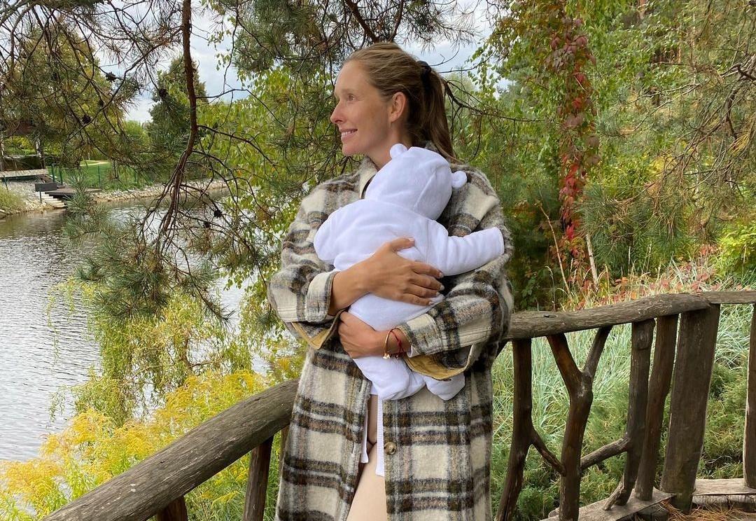 Катя Осадчая похвасталась новым снимком с ребенком / фото instagram.com/kosadcha