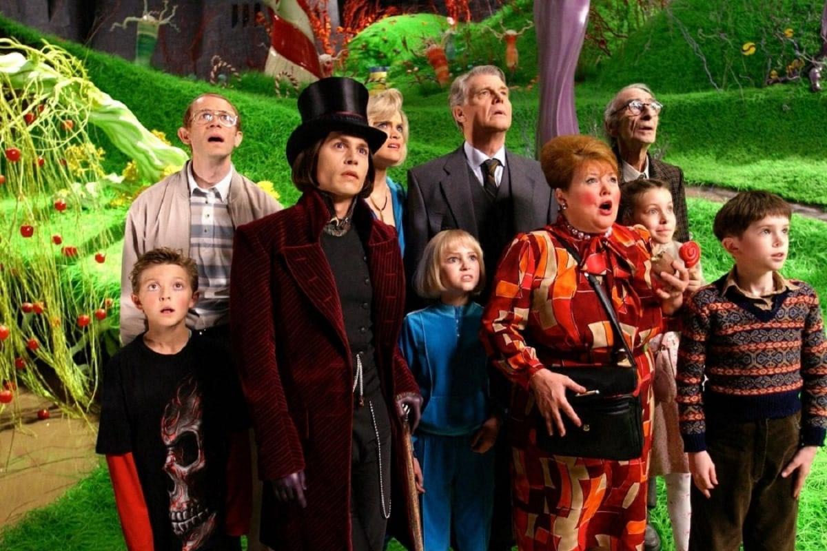 """Фильм """"Чарли и шоколадная фабрика"""" Бертона вышел на экраны в 2005 году / скриншот"""