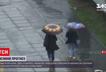 Почти во всех регионах ожидаются дожди, а в Карпатах даже мокрый снег