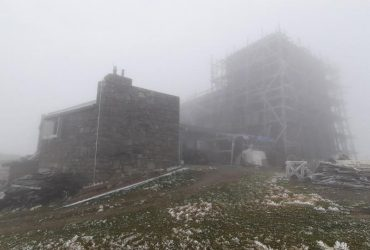 Температура в Карпатах впала до 0° (фото)