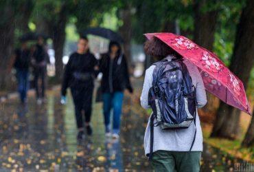 Во вторник в Украину нагрянут дожди и принесут с собой похолодание (карта)