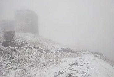 Карпаты засыпает снегом (фото)