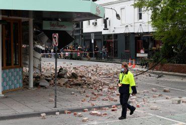 Австралию встряхнуло мощное землетрясение (видео)