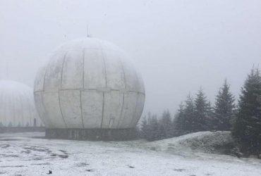 В Черновицкой области выпал снег (фото)