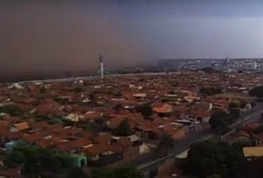 Песчаная буря вызвала панику и анархию в Бразилии - СМИ (видео)