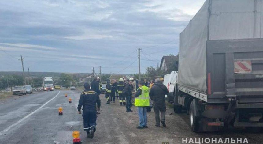 Під Одесою сталася ДТП з поліцейськими: п'ять постраждалих, зокрема 6-річний хлопчик