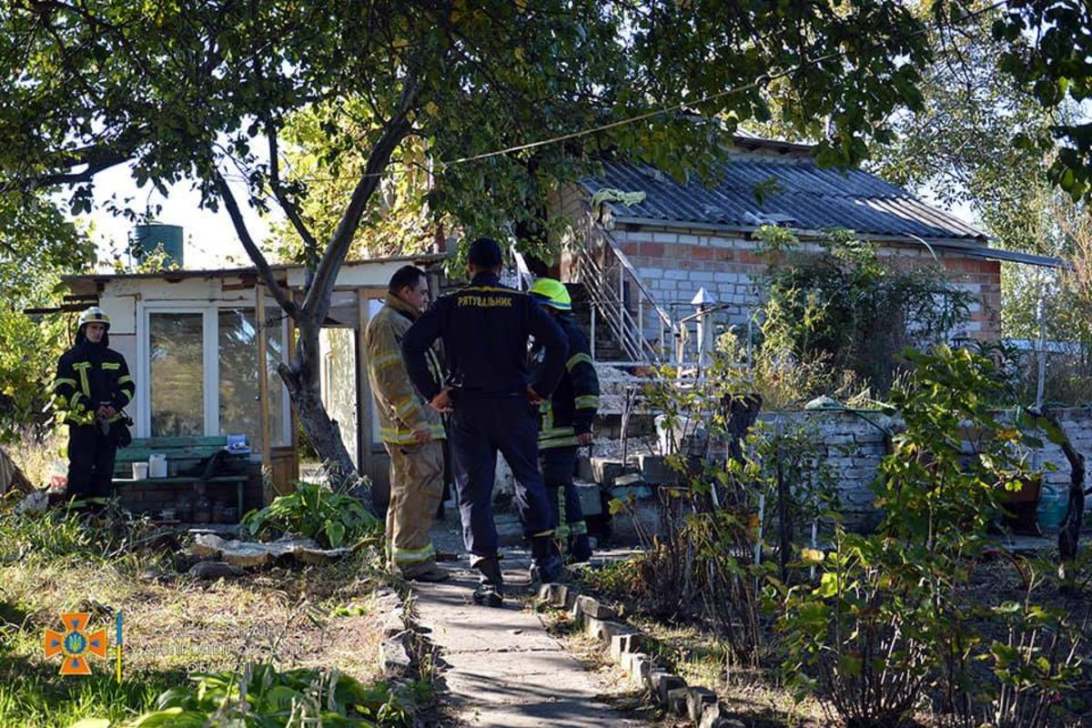 В Днепре в результате небольшого пожара погибли два человека / фото facebook.com/MNSDNE