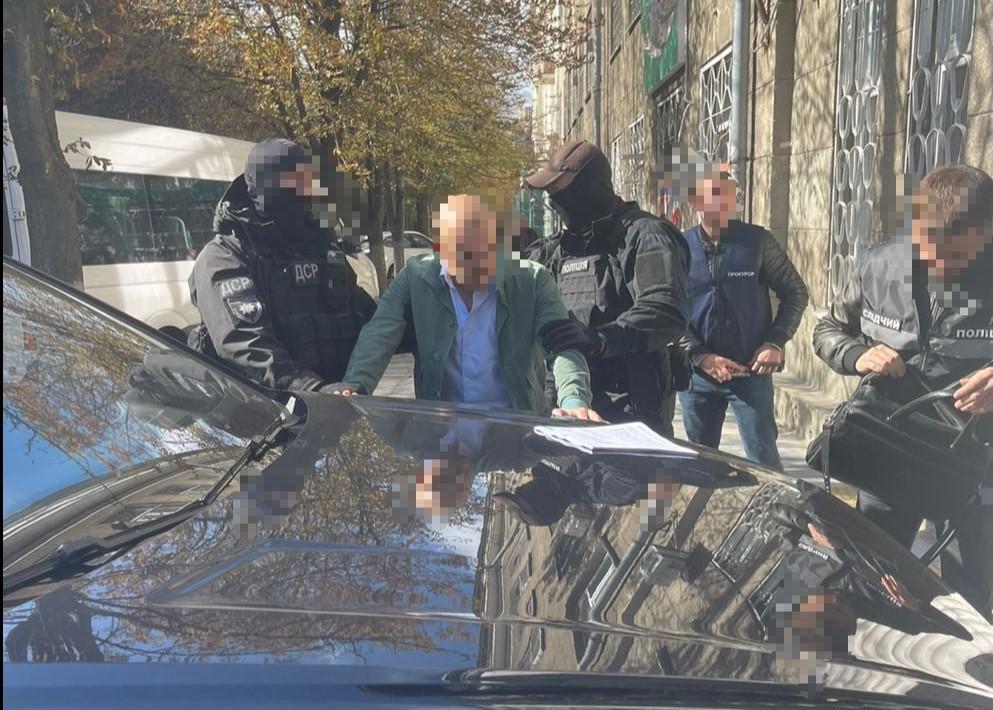 Чоловіка затримали у Дніпрі / фото gp.gov.ua
