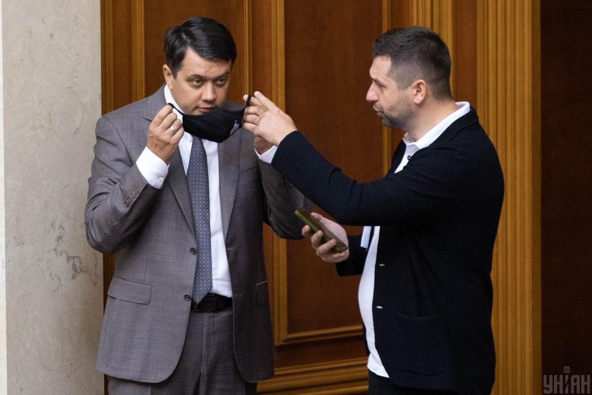 Разумков намекнул на шантаж от Корниенко и Арахамии / фото УНИАН, Александр Кузьмин