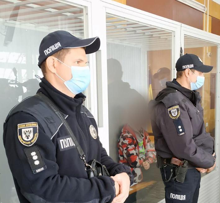 Суд обрав запобіжний захід всім причетним до смерті поліцейського / фото прес-служба МВС