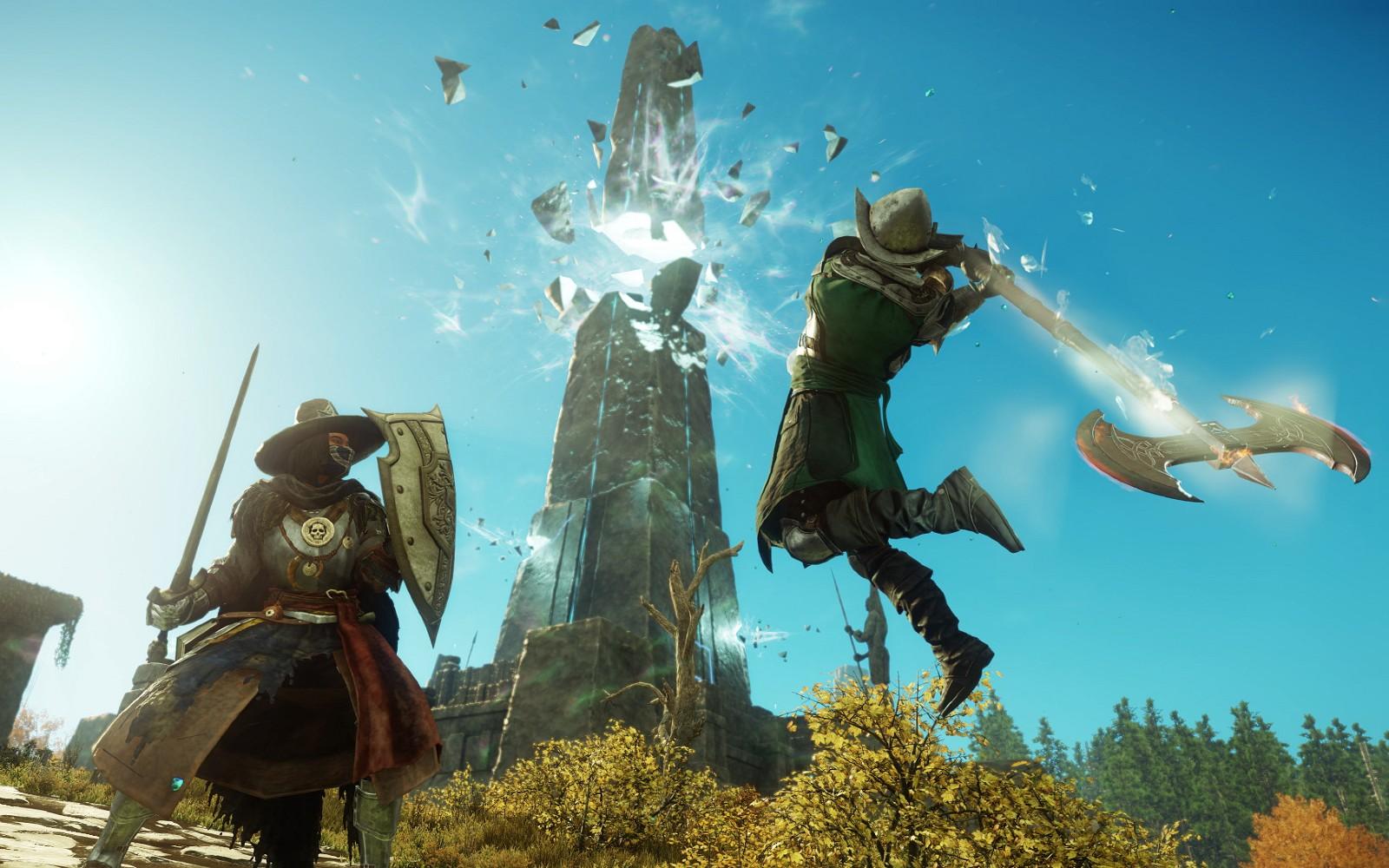 New World установила новый рекорд / фото Amazon Games