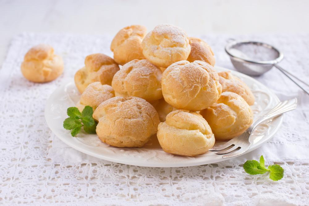 Заварные пирожные рецепт / фото ua.depositphotos.com