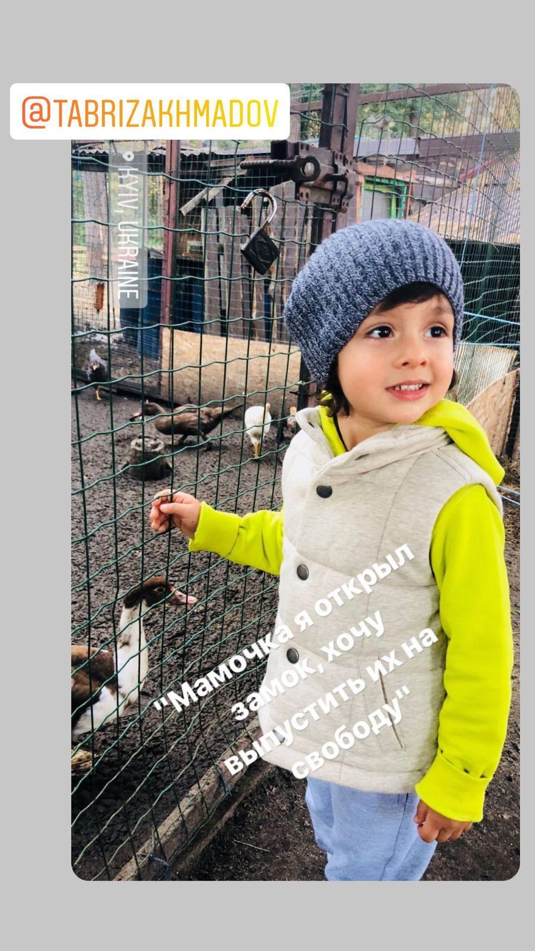 Білик показала молодшого сина / instagram.com/bilyk_iryna