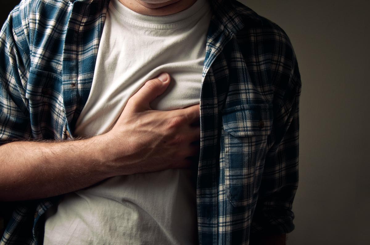 56-летний мужчина обратился к медикам, потому что два дня страдал от боли в груди и затрудненного дыхания / фото ua.depositphotos.com
