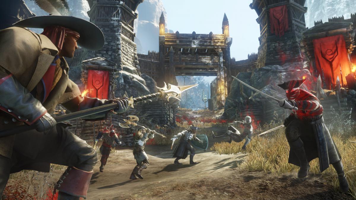 У New World почалася війна з ботами-рибалками / фото Amazon Games