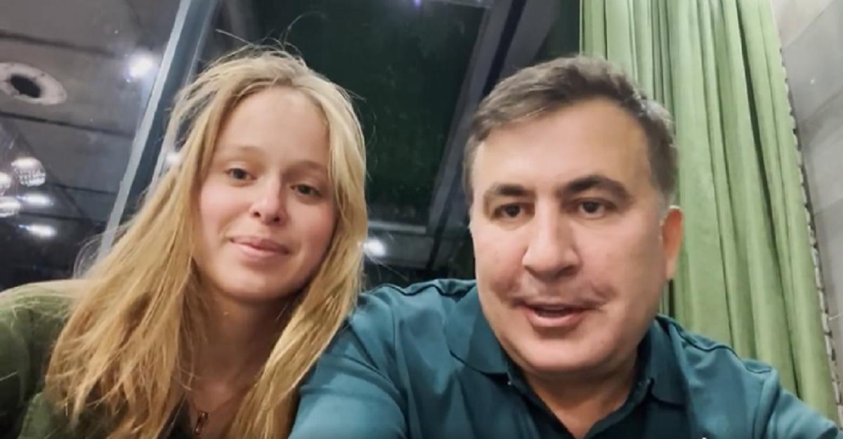 1 октября появилось видео, на котором Ясько и Саакашвили признаются в отношениях / скриншот