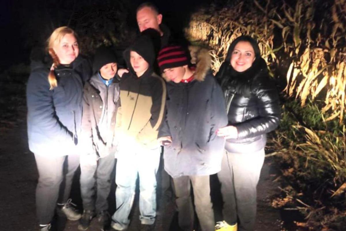 На Киевщине нашли беглых учеников / фото facebook.com/Андрій Небытов