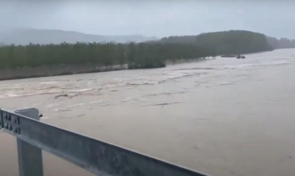Италия страдает от наводнений / скриншот из видео
