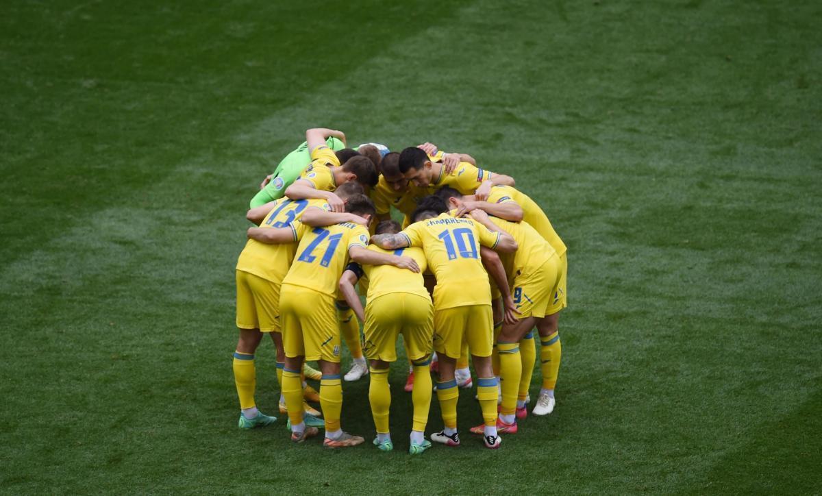 Сборная Украины - фаворит матча / фото REUTERS