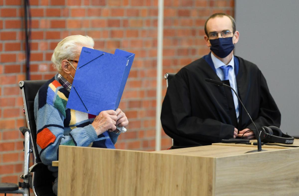 Нацистский преступник Йозеф С. на суде / фото REUTERS