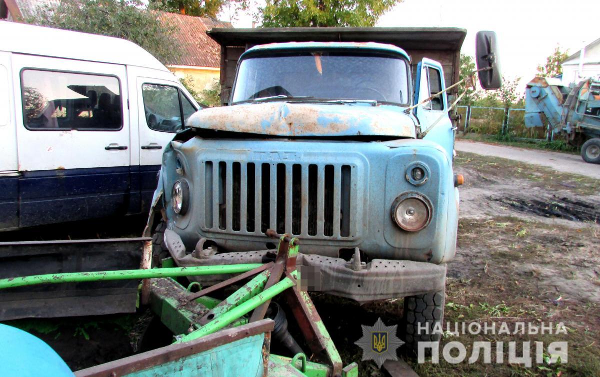 У Рівненській області чоловік вкрав вантажівку з картоплею / прес-служба поліції Рівненської області
