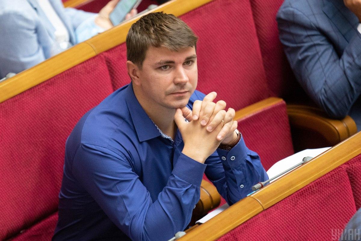 Верховная Рада минутой молчания почтила память Антона Полякова / фото УНИАН, Александр Кузьмин