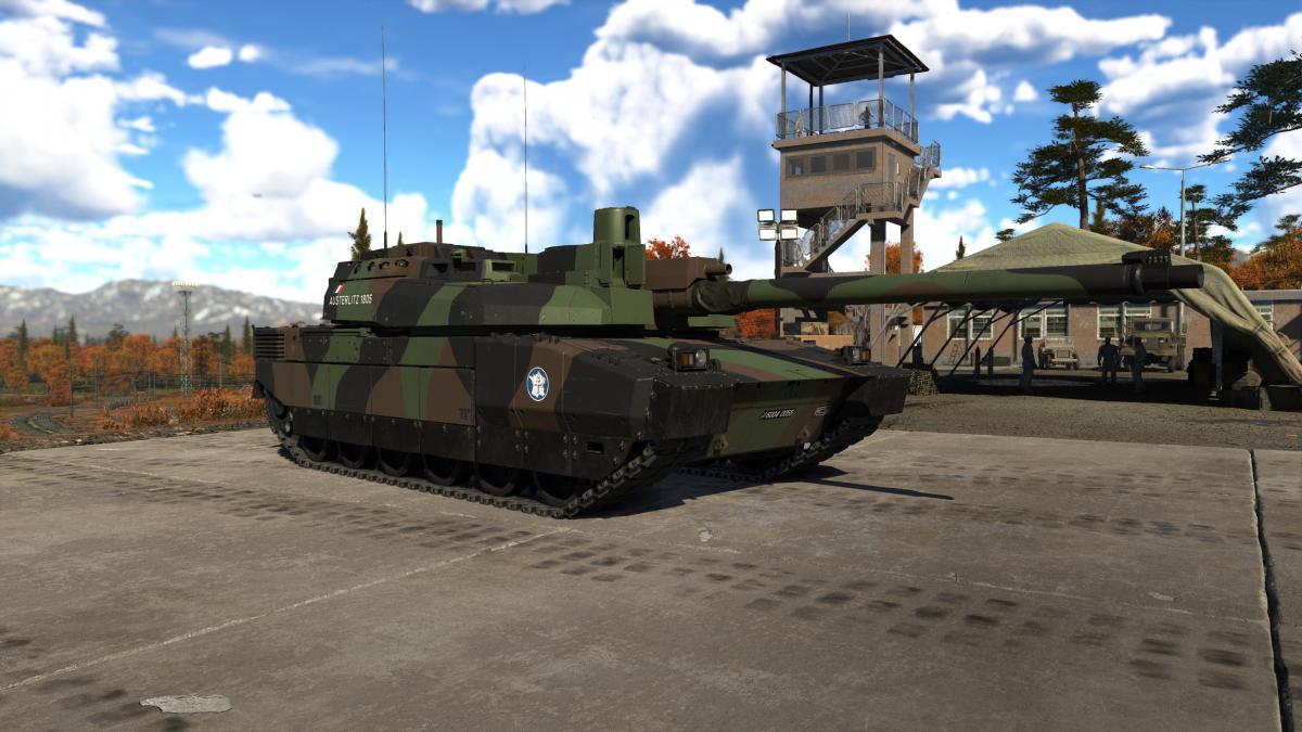 Leclerc S2 в War Thunder / фото Reddit