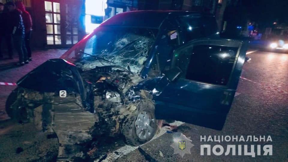 Авария произошла в Яремче 7 октября около 20:00 \ фото if.npu.gov.ua
