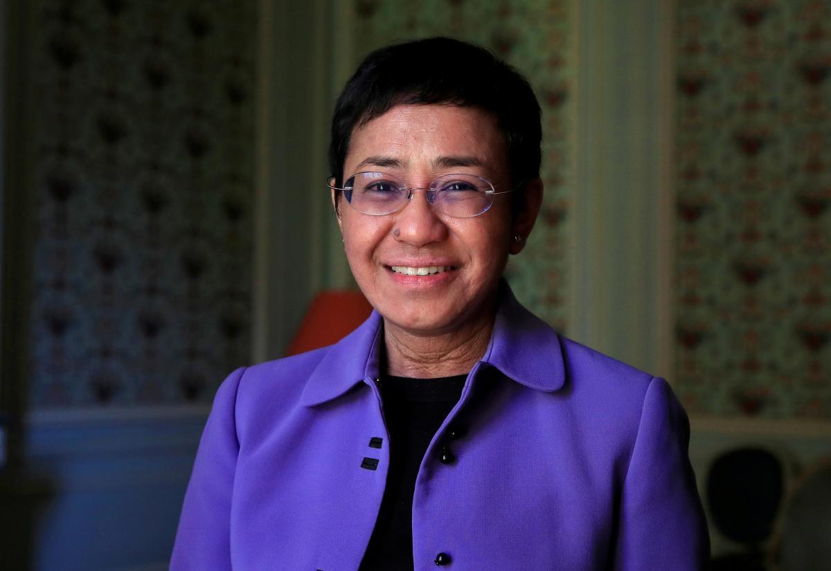 Мария Ангелита Ресса-Филиппино-американская журналистка / фото REUTERS
