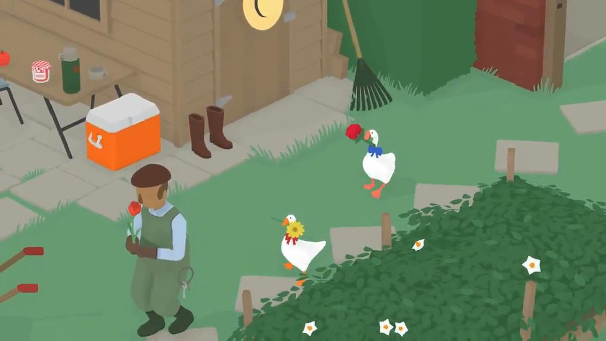 Untitled Goose Game / фото GamesRadar+