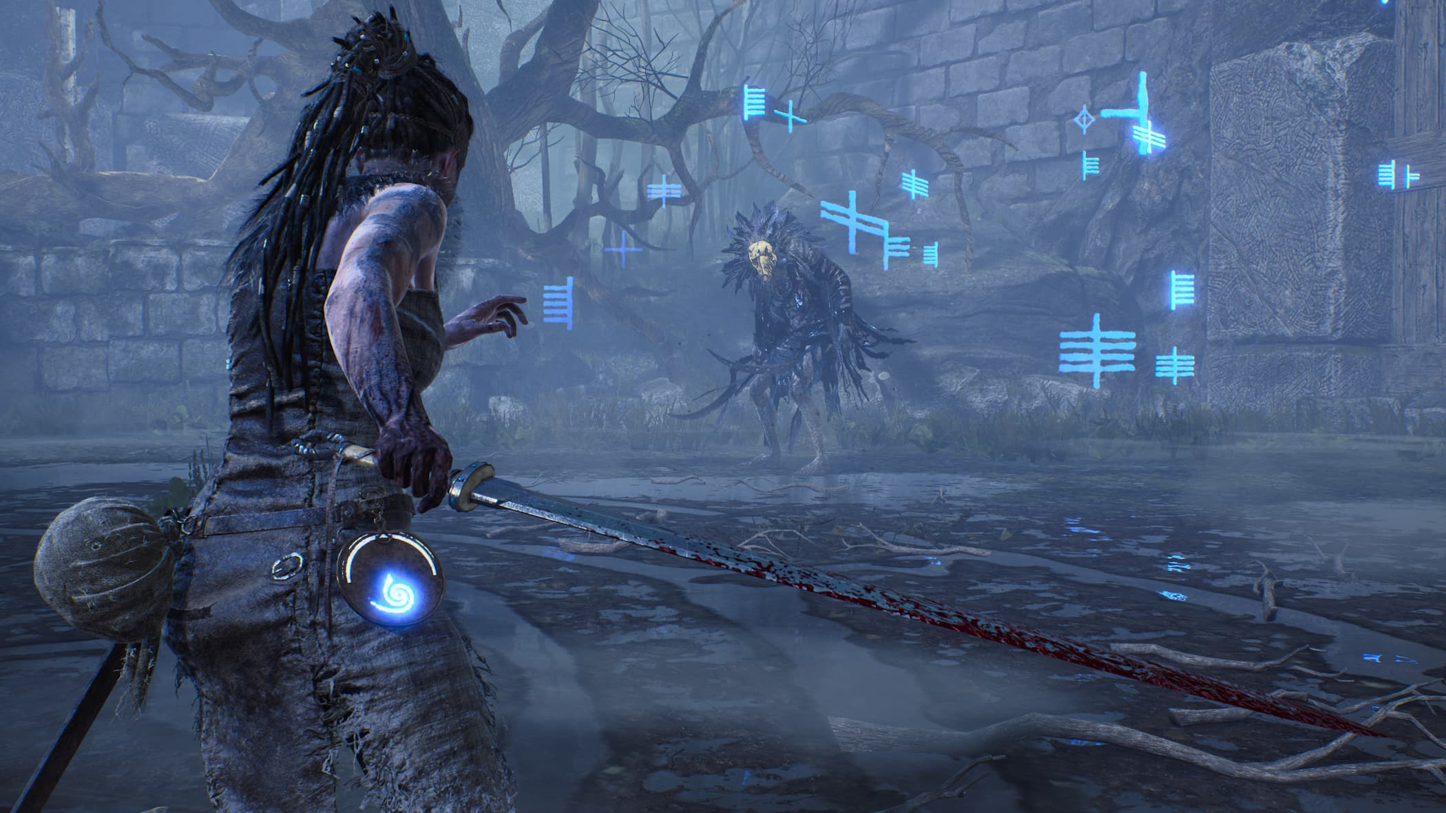 Hellblade: Senua's Sacrifice / фото Engadget