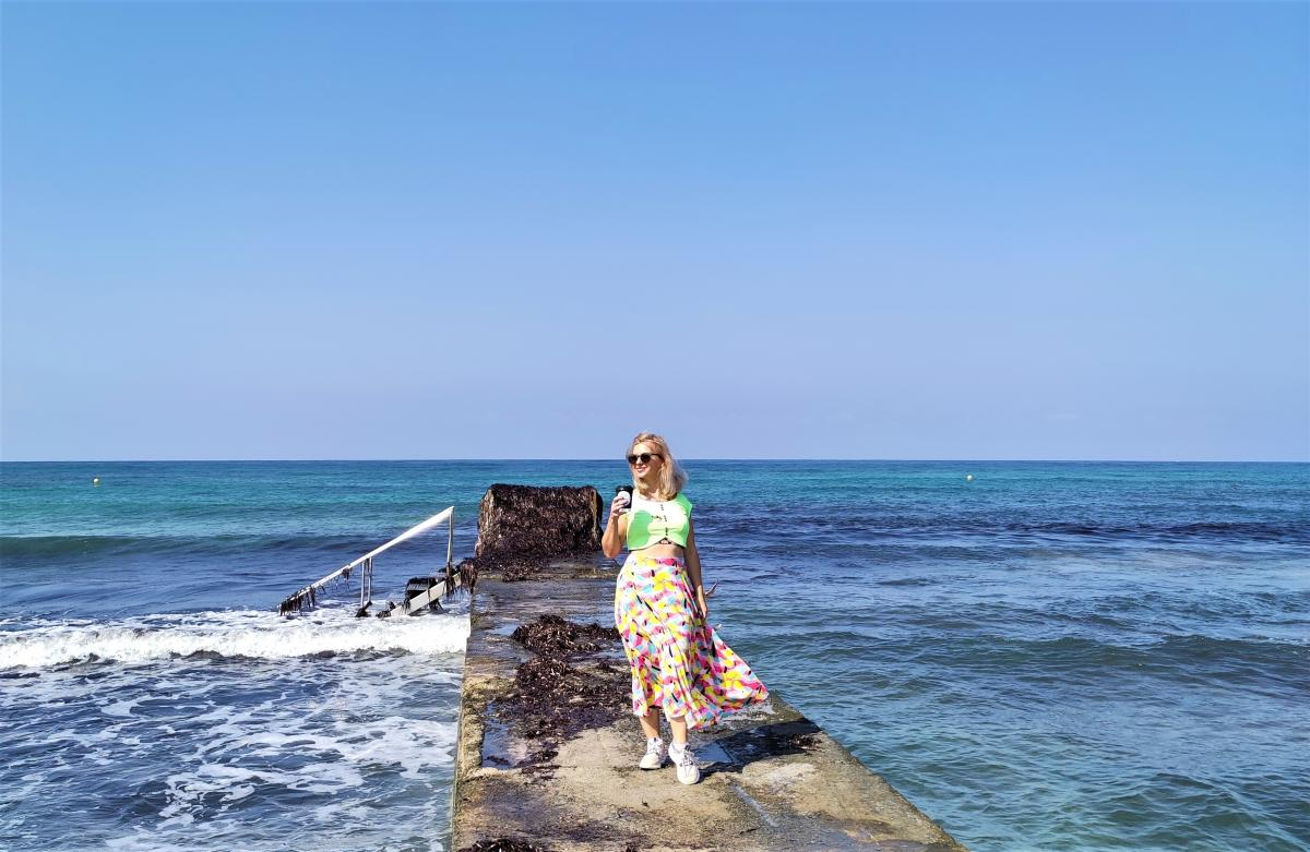 Пляжі на Кіпрі красиві, але не найкращі для купання / фото Марина Григоренко